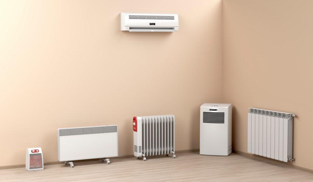 Suivant le type de radiateurs les économies d'énergie peuvent différer
