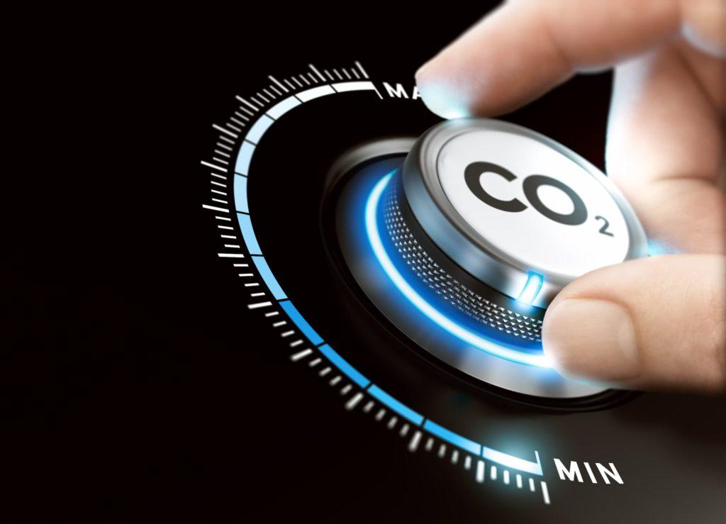 Bouton de réduction des émissions de CO2