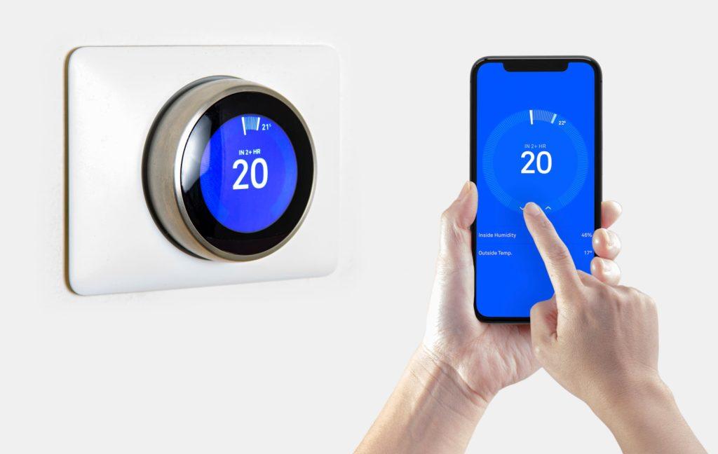 Les thermostats programmables permettent de contrôler le chauffage